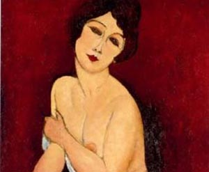 Nu_assis_sur_divan_Belle_Romaine_Amedeo_Modigliani_1884-1920