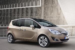 El Opel Meriva, fabricado en Figueruelas, galardonado por su diseño