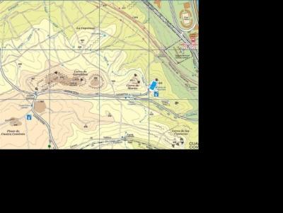 Mapa de la casa de campo y del anillo verde ciclista - Anillo verde ciclista madrid mapa ...