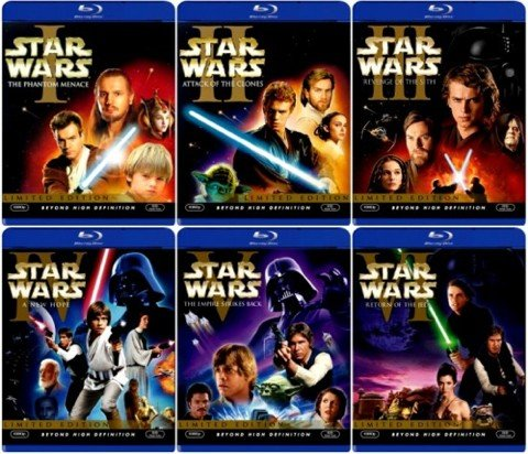 Star Wars Blu-Ray Edition