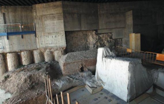valiosos restos bajo el museo de colecciones reales