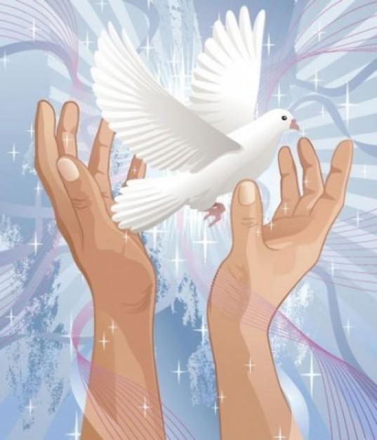 Worksheet. Manualidad para el Da de la Paz