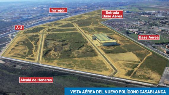 Nuevo pol gono industrial casablanca en torrej n de ardoz for Oficina de empleo de torrejon de ardoz