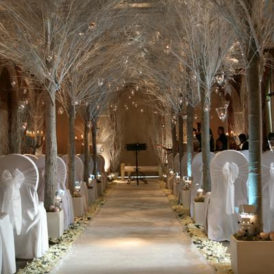 Boda papel o tijera como decorar una boda en navidad for Ornamentacion para navidad