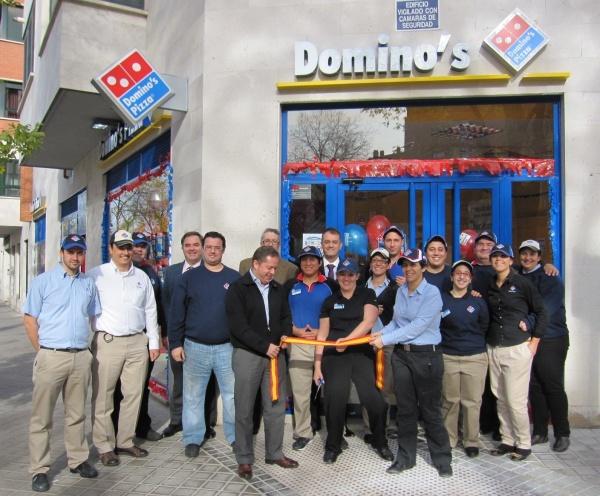 Domino s pizza invierte nueve millones en la apertura de - Local en madrid ...