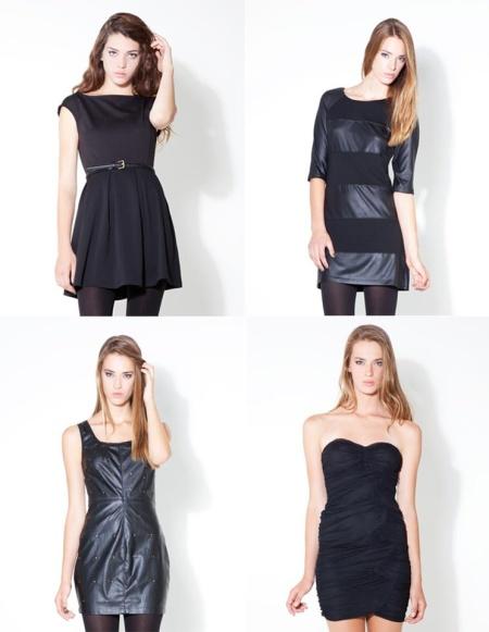 Vestido negro para nochevieja