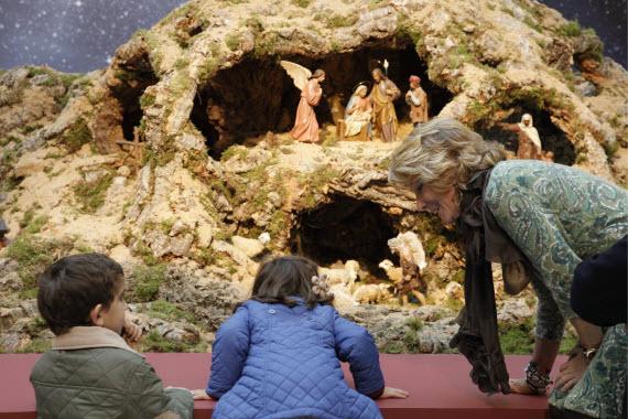 Image gallery nacimientos navidenos en casas - Casas de navidad ...