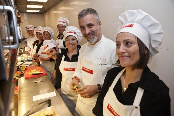 Cinco madres de distintos puntos de espa a toman el - Restaurante sergi arola madrid ...