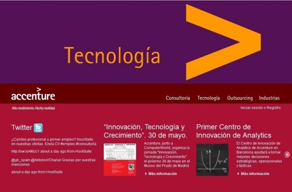 Accenture encabeza el ranking de empresas m s deseadas - Trabajar en facebook espana ...