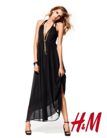 Vestido de noche h&m
