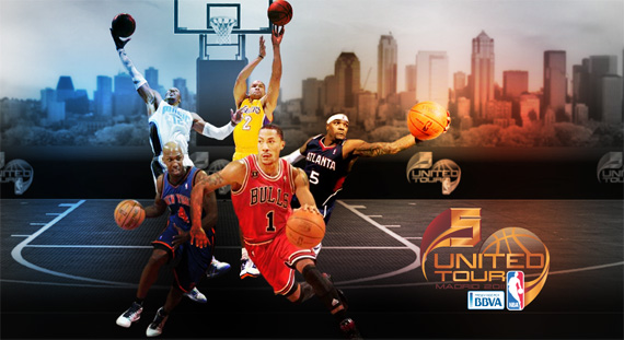 NBA 5 United Tour