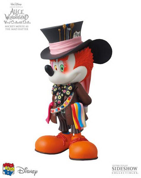 Mickey como el Sombrerero Loco entretenimiento