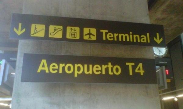 llegadas de madrid: