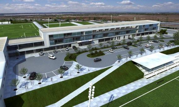 Presentadas las nuevas residencias para jugadores de la ...