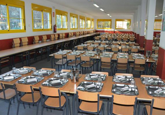 nuevo comedor del colegio p blico severo ochoa de torrej n