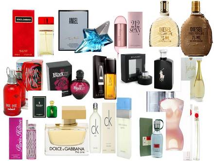 todas las marcas de perfumes de mujer
