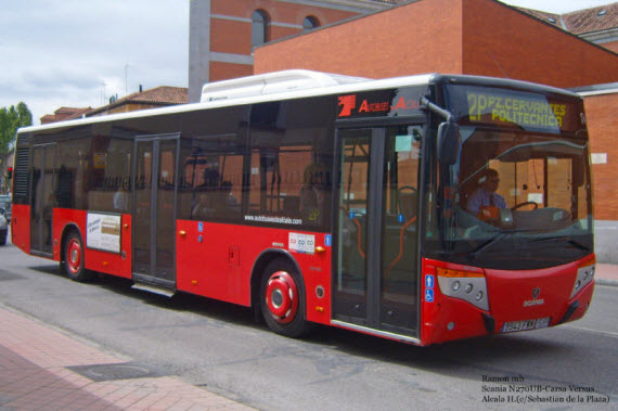 Nueva l nea 12 de autobuses urbanos de alcal de henares y for Autobuses alcala de henares