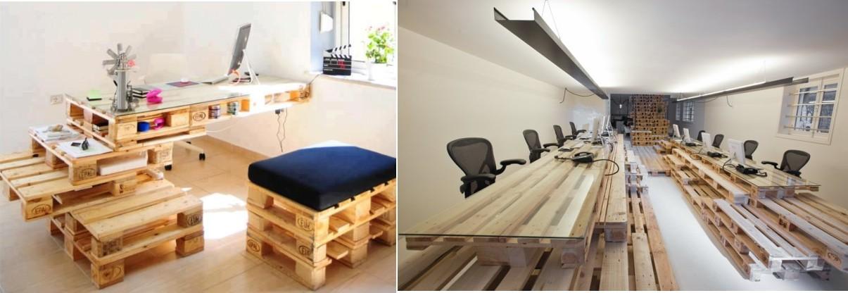 crear muebles con palets reciclados