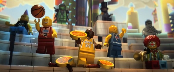 las estrellas de la NBA, juntos en el trailer de 'LEGO: La película