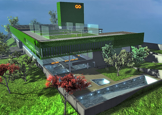 El nuevo polideportivo de vallehermoso estar listo para julio de 2014 - Centro deportivo siglo xxi zaragoza ...