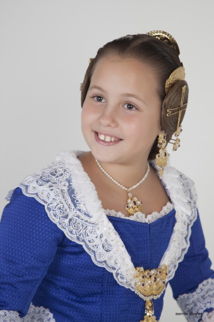 Carla Garay Navarro, Fallera Mayor Infantil 2015 de Mosen Sorell -Corona - carla-garay-navarro-fallera-mayor-infantil-2015-mosen-sorell-corona_1_2191209