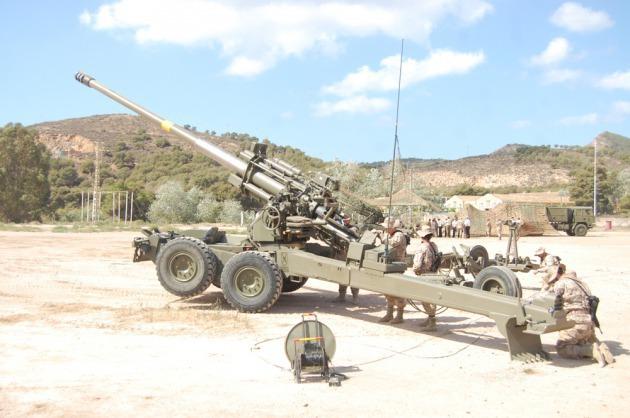OBÚS SANTA BÁRBARA SISTEMAS APU 155/52 Artilleria-costa-enfrentarse-buques-tierra_3_2076088