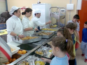 Empleo para los comedores escolares de Pedro Muñoz
