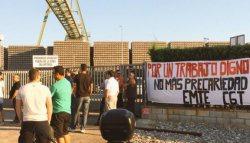 Huelga indefinida de las y los trabajadores de EMTE Service