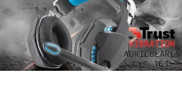 ANÁLISIS HARD-GAMING: Auriculares Gaming Trust GXT 363 7.1 Vibration