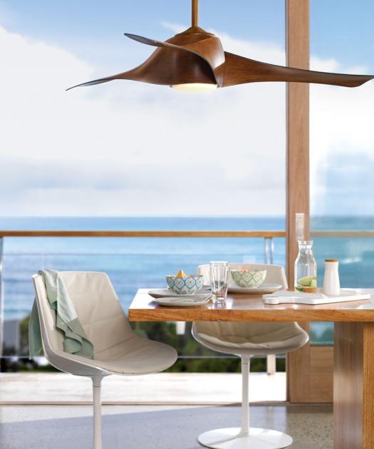 El ventilador de techo artemis tiene un dise o moderno - Ventilador de techo moderno ...