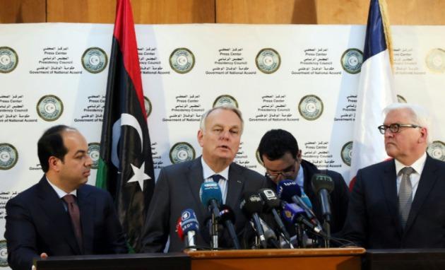 Los ministros alem n y franc s de exteriores en libia for Gobierno exterior
