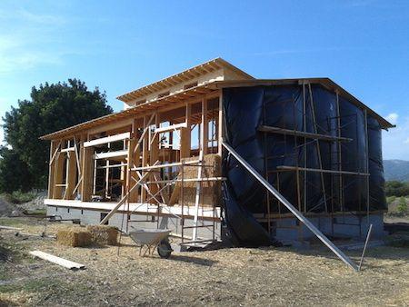 Construcci n de casas de paja for Construccion de casas