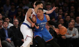 Westbrook sigue imparable y los Thunder vencen a Dallas en la NBA