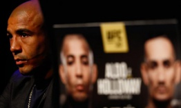 UFC 212 press conference in Brazil