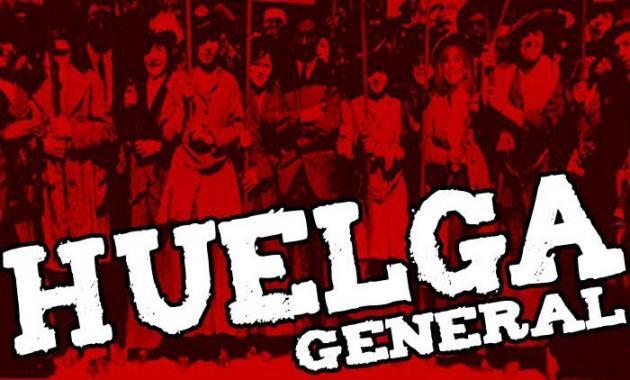 Imagini pentru huelga general cataluña
