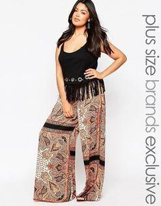 81507ed42 Cómo combinar pantalones con estampado si soy gordita?
