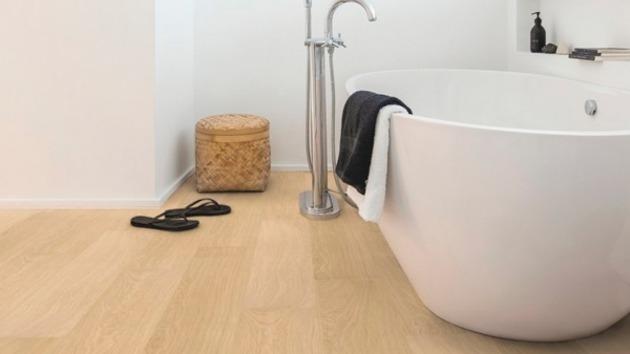 Suelos laminados Quick Step para cocina y baños