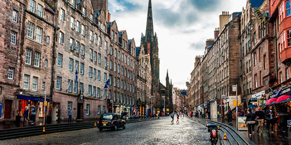 estudiar ingles en Edimburgo - Casco antiguo