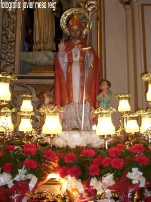 javier flor santo san luis: