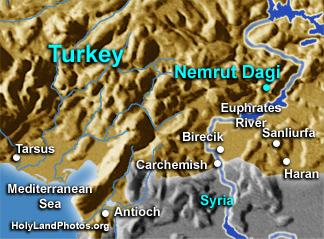 El monte de los Dioses decapitados o caidos: Nemrut Dagi 1291536364