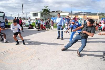 Los Juegos Tradicionales Se Rescatan En Imbabura